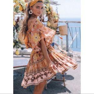 COMING SOON! Bohemian Floral Mini Dress